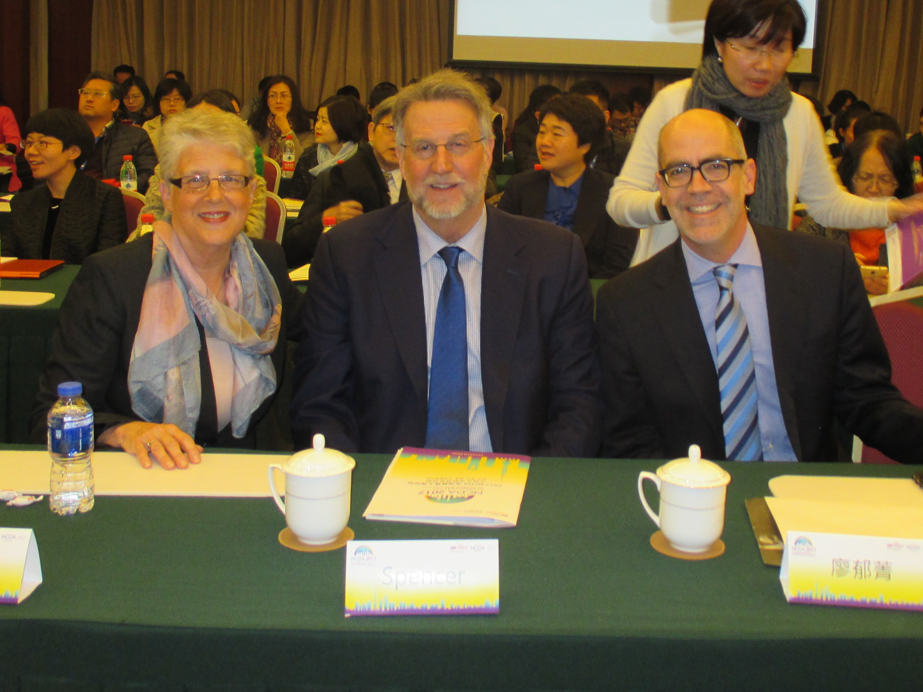 NCDA Leadership at China NCDA Conference Shanghai China